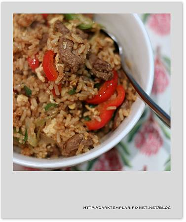 2016 Satay Beef Fried Rice 01