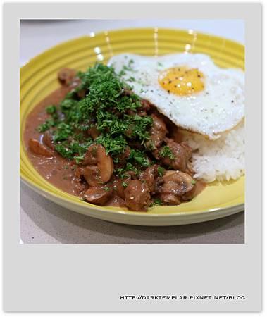 2016 Burger Mushroom Rice 01