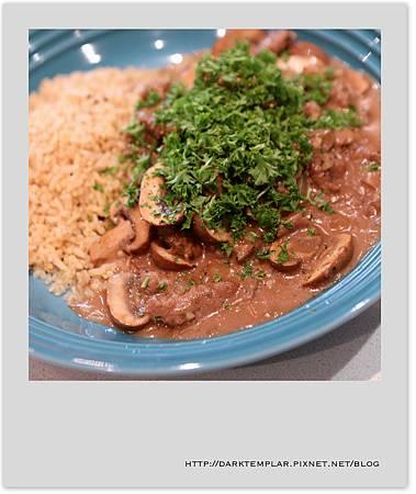 2016 Burger Mushroom Rice 03