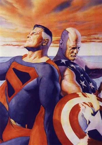 美國隊長超人