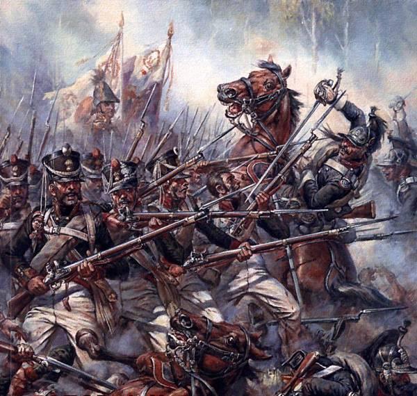步兵對騎兵