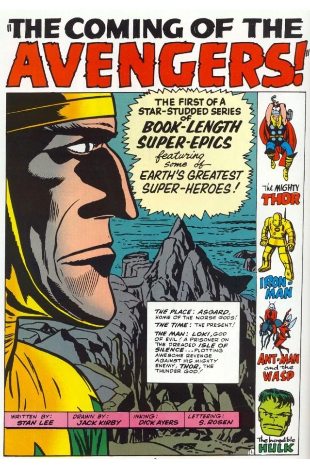 Avengers 001