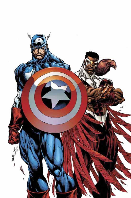 美國隊長和獵鷹