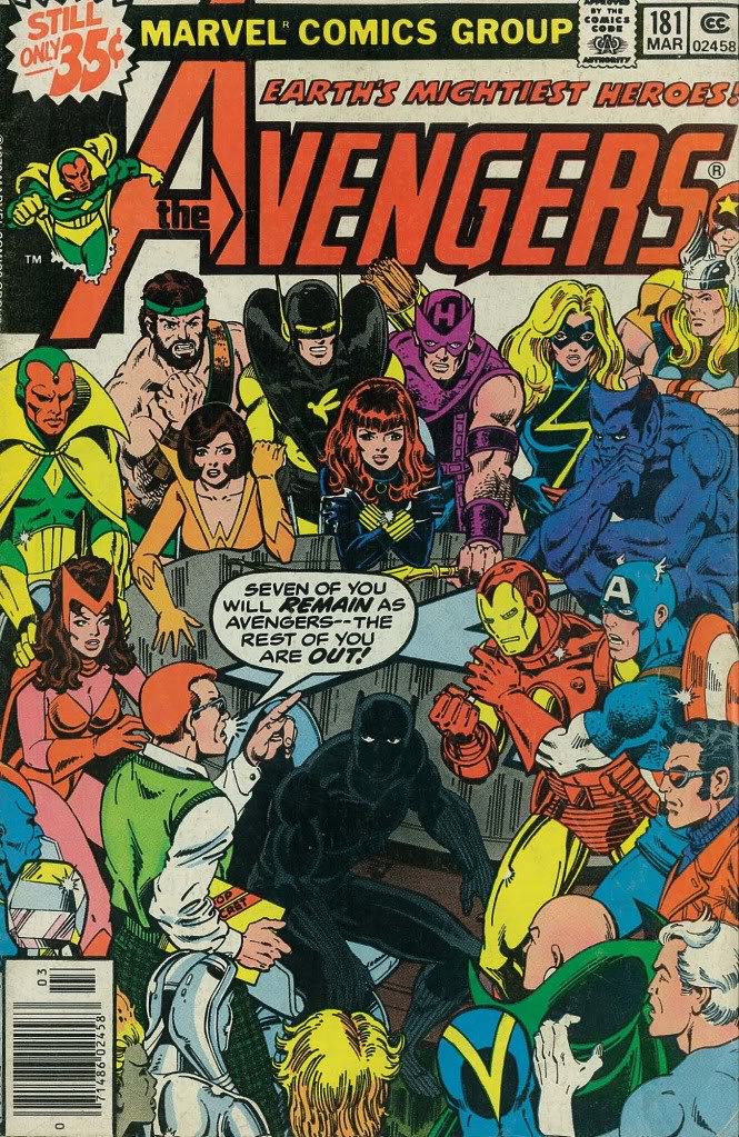 The Avengers#181
