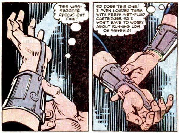蜘蛛絲發射器