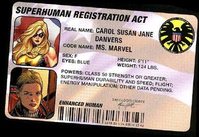 超人身分證