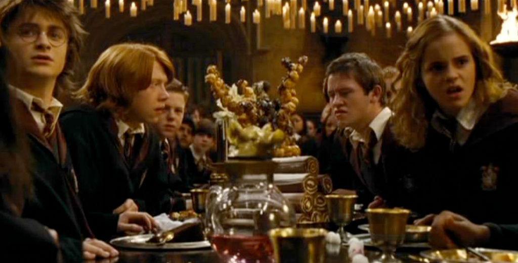 霍格華茲的宴會