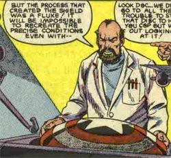 發明超彈性vibranium合金的Myron_MacLain博士
