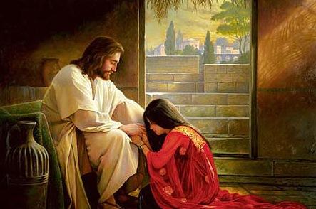 主耶穌說:「『我也原諒』的意思是因為我愛你,所以我耶穌也不得不原諒你。