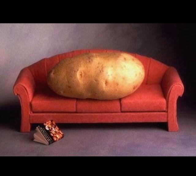 沙發馬鈴薯