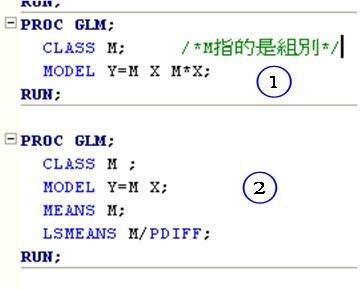 Proc Glm Class