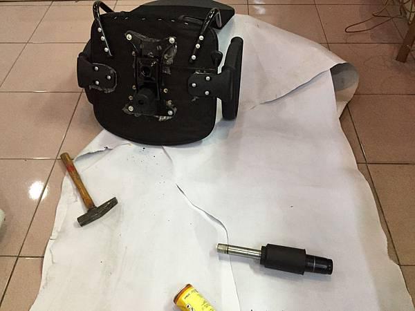 辦公椅維修更換腳 5