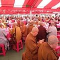 供僧法會(和平文化藝術季)