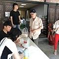 台中慈善發放活動