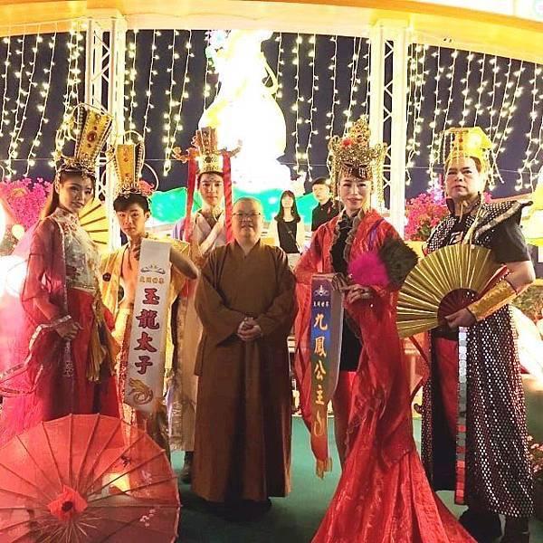 大同世界表演藝術聯盟受邀大鵬灣燈會表演