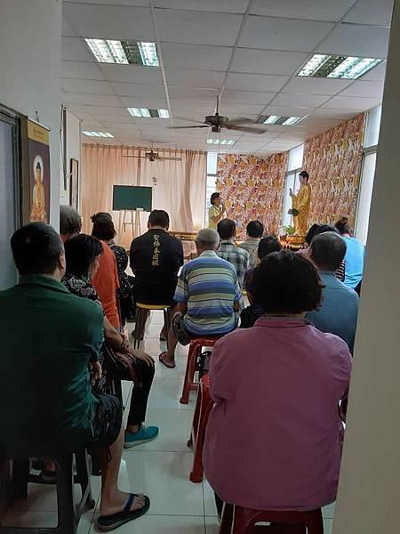 ※每月(大同世界慈善日)舉辦心靈講座,物資發放  北高佛院每月第二週和第四週的(禮拜三)早上10:30