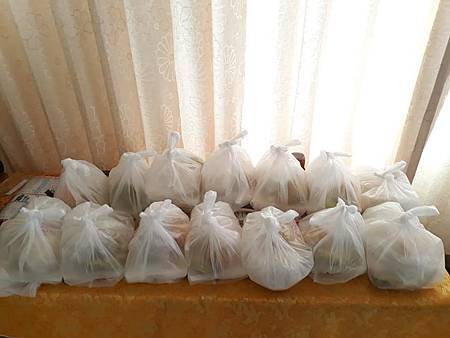 大同世界慈善會北高佛院 慈善素食便當,吉祥紅包發放