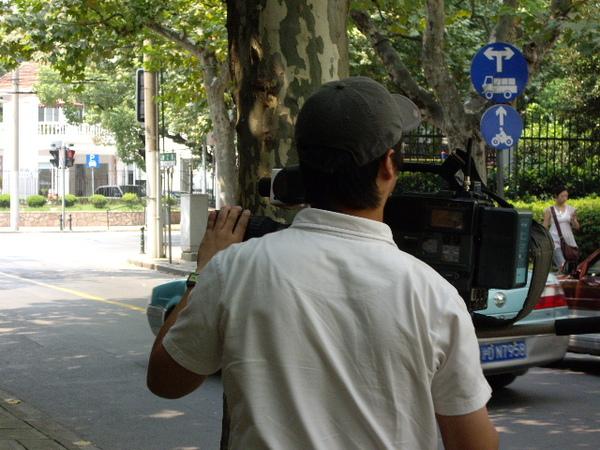 東方衛視採訪