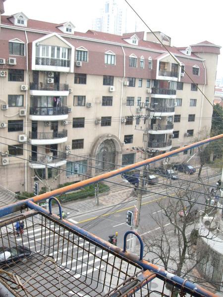 上海終於下雪了