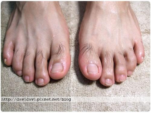 20101107。深層蜜蠟保養後雙腳