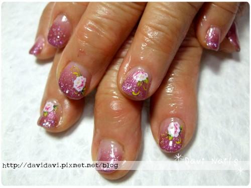 20110406。古典紫牡丹