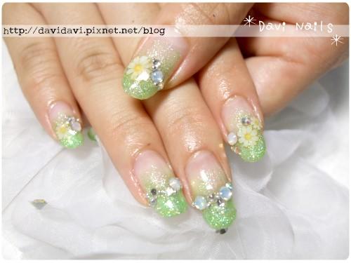 20110608。清透綠小雛菊