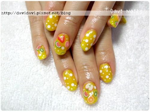 20110608。夏日橘子氣泡