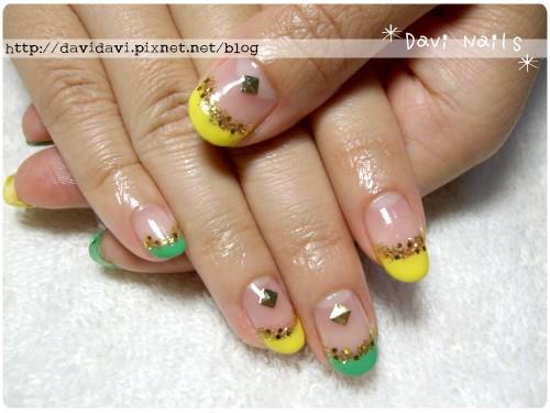 20110613。黃x綠的清爽風