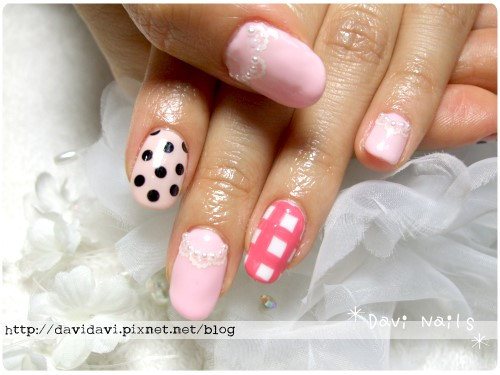 20110622。粉色混搭風