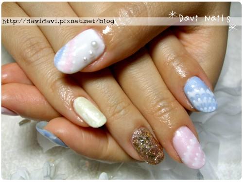 20110706。柔和粉彩孔雀紋