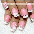 20110708。粉雕玫瑰雙色法式
