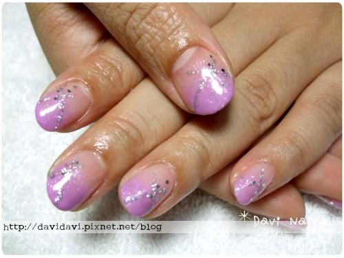 20110712。粉紫銀線璀璨