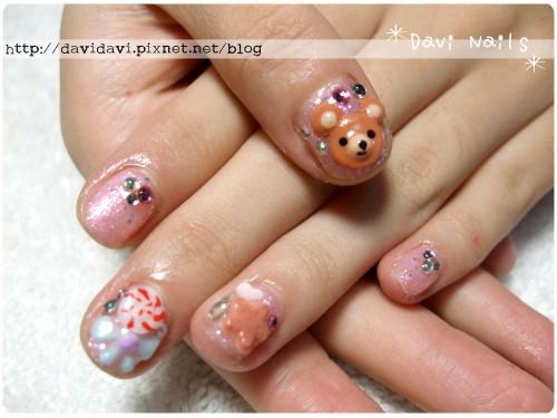 20110826。可愛熊熊&甜點