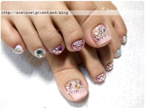 20110911。閃亮粉彩鑽