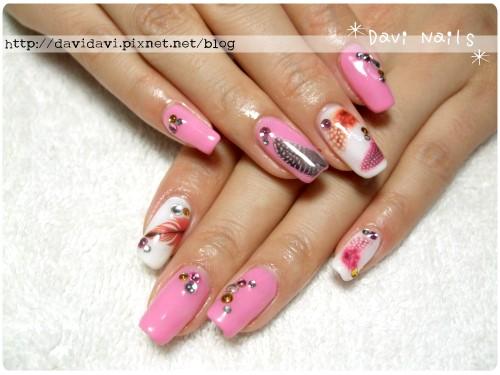 20111007。粉紅系羽毛