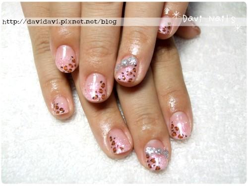 20111013。粉紅璀璨x豹紋