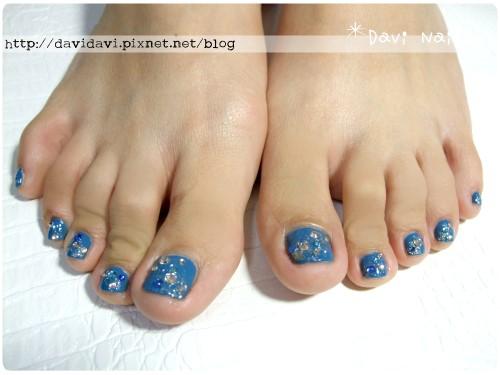 20111016。復古藍色銀河