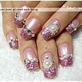 20111028。粉紫華麗鑽