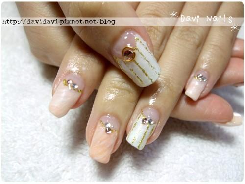 20111104。粉橘色大理石紋