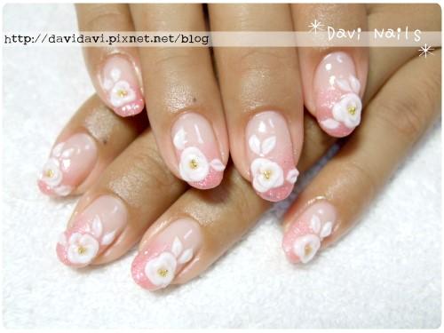 20111118。粉膚璀璨x白玫瑰