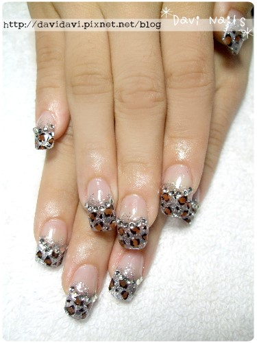 20111125。銀色璀璨x豹紋