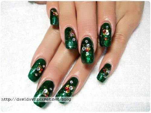 20111209。璀璨綠聖誕