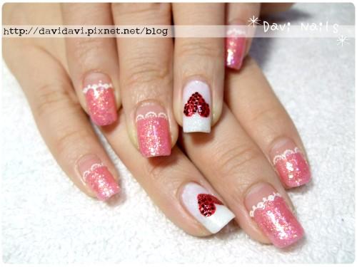 20111219。粉紅甜心蕾絲