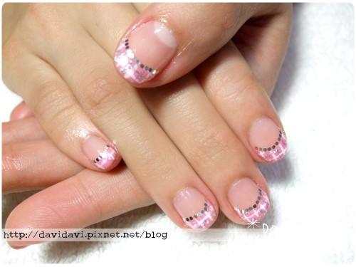 20120119。粉色格子紋