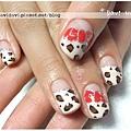 20120120。法式豹紋x蝴蝶結