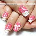 20120120。粉紅雲朵法式