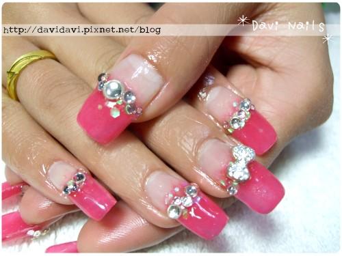 20120121。華麗桃紅鑽