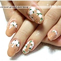 20120122。復古白色小花圈