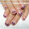 20120122。優雅深紫法式