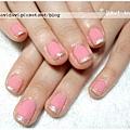 20120128。粉紅銀法式